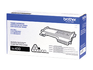 Brother Genuine TN450 OEM High Capacity Black Toner Cartridge, 2600 Page Yield