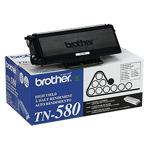 Genuine Oem Brother Tn-580 Tn580 Black Laser Toner Cartridge 012502614487 New Buy Now Business & Industrial Office Equipment
